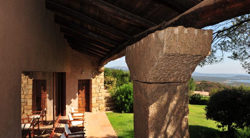 San Pantaleo veranda
