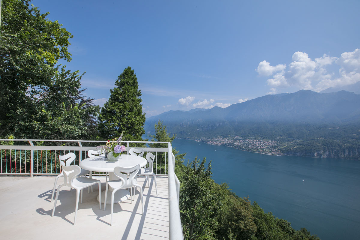 Cloudhouse Top Balcony White Table With Forest And Lake View Copy Kate Steel Property